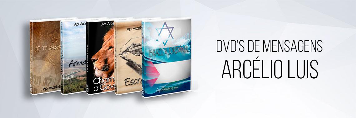 DVD's de Mensagens com Apóstolo Arcélio Luis